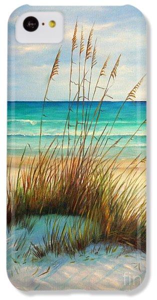 Beach iPhone 5c Case - Siesta Key Beach Dunes  by Gabriela Valencia