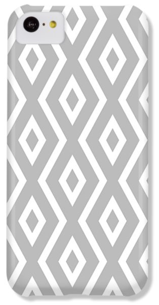 Silver Pattern IPhone 5c Case