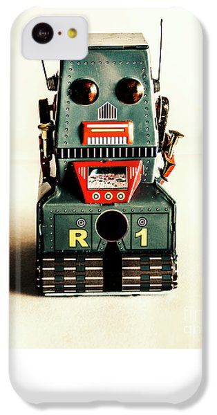 Simple Robot From 1960 IPhone 5c Case