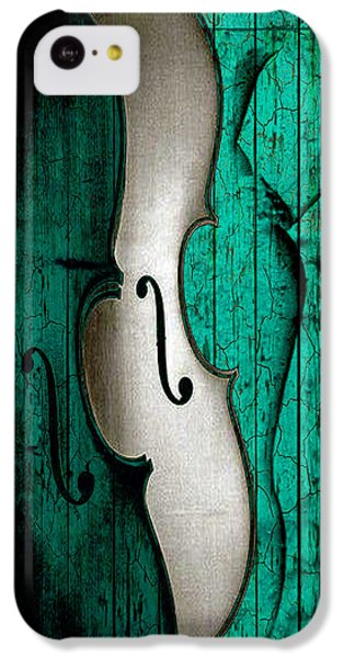 Violin iPhone 5c Case - Sinful Violin by Greg Sharpe