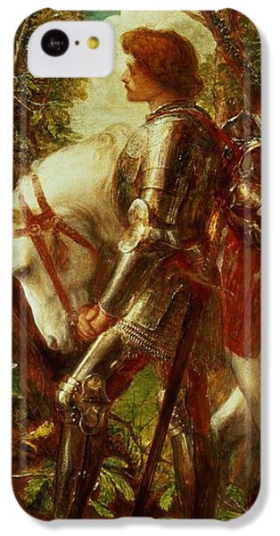 Sir Galahad IPhone 5c Case by George Frederic Watts