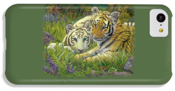 Sisters IPhone 5c Case by Lucie Bilodeau