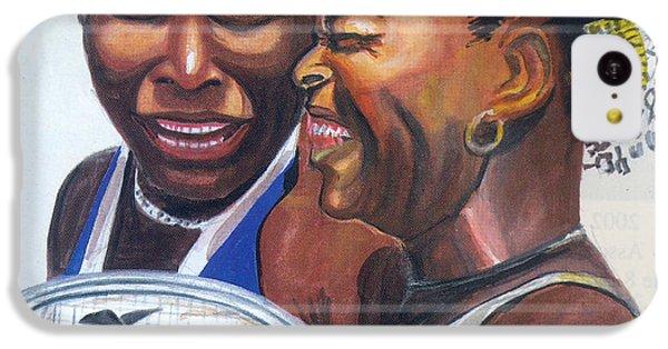 Sisters Williams IPhone 5c Case by Emmanuel Baliyanga