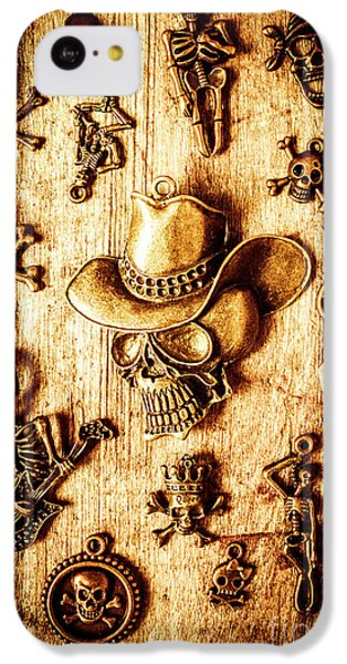 IPhone 5c Case featuring the photograph Skeleton Pendant Party by Jorgo Photography - Wall Art Gallery