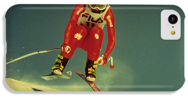 Skiing In Crans Montana IPhone 5c Case