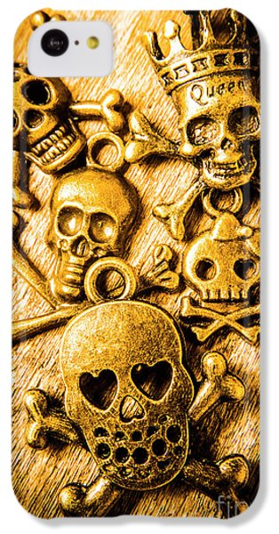 IPhone 5c Case featuring the photograph Skulls And Crossbones by Jorgo Photography - Wall Art Gallery