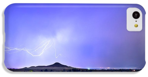 IPhone 5c Case featuring the photograph Sky Monster Above Haystack Mountain by James BO Insogna