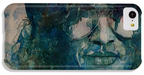 Musicians iPhone 5c Case - Slash  by Paul Lovering