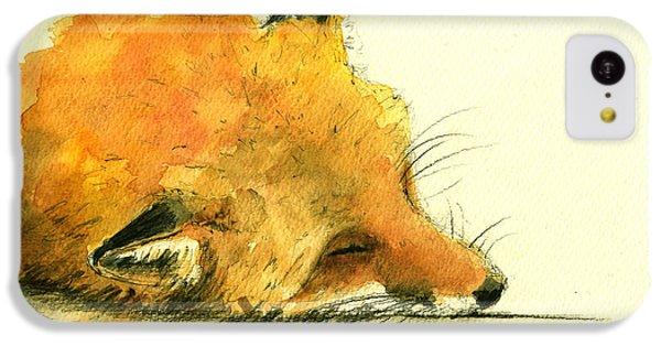Sleeping Fox IPhone 5c Case
