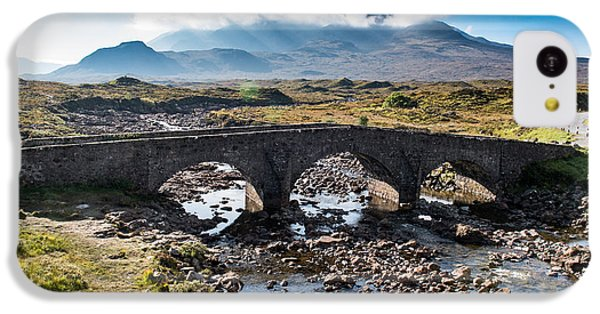 IPhone 5c Case featuring the photograph Skye Cuillin From Sligachan by Gary Eason