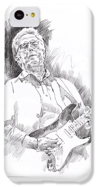 Eric Clapton iPhone 5c Case - Slowhand by David Lloyd Glover