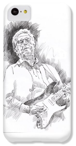 Slowhand IPhone 5c Case by David Lloyd Glover