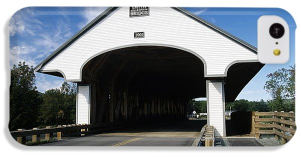 Smith Covered Bridge - Plymouth New Hampshire Usa IPhone 5c Case