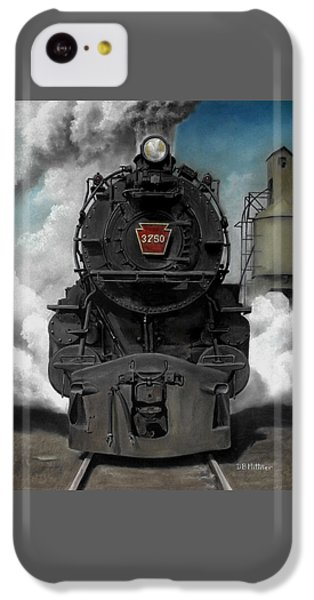 Train iPhone 5c Case - Smoke And Steam by David Mittner