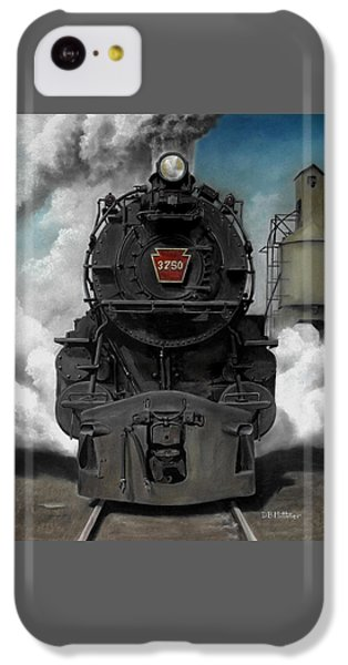 Transportation iPhone 5c Case - Smoke And Steam by David Mittner