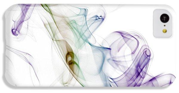 Seahorse iPhone 5c Case - Smoke Seahorse by Nailia Schwarz