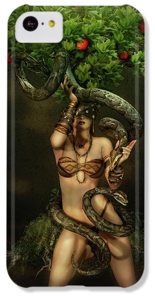 Python iPhone 5c Case - Snake Charmer by Shanina Conway