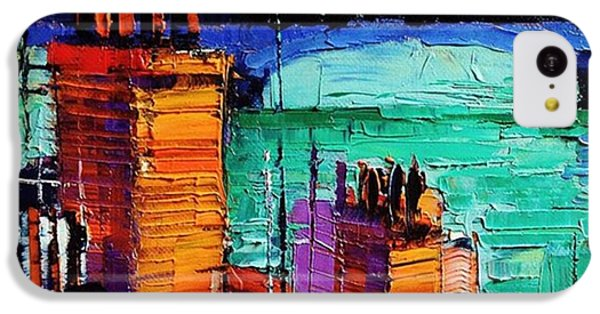Architecture iPhone 5c Case - Sneak Peek Close-up Of A New by Mona Edulesco