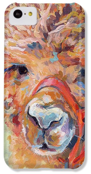 Llama iPhone 5c Case - Snickers by Kimberly Santini