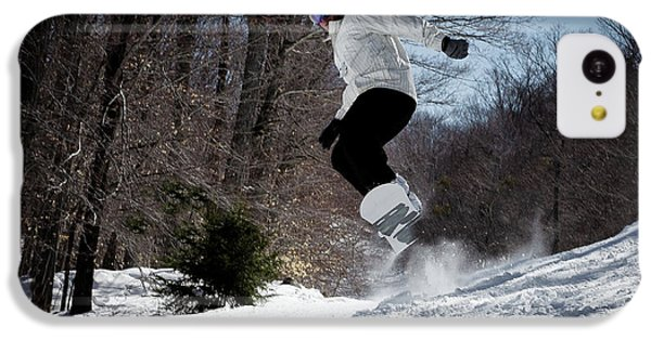 IPhone 5c Case featuring the photograph Snowboarding Mccauley Mountain by David Patterson