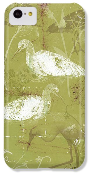 Snowy Egrets IPhone 5c Case by Arline Wagner