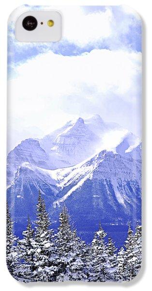 Mountain iPhone 5c Case - Snowy Mountain by Elena Elisseeva