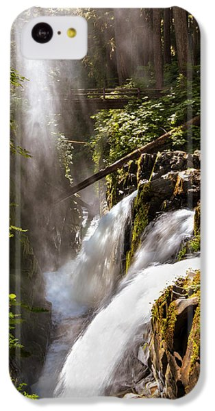 IPhone 5c Case featuring the photograph Sol Duc Falls by Adam Romanowicz
