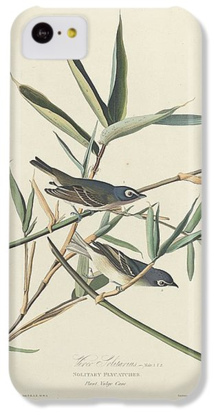 Flycatcher iPhone 5c Case - Solitary Flycatcher by Dreyer Wildlife Print Collections