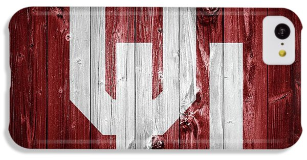 Sooners Barn Door IPhone 5c Case