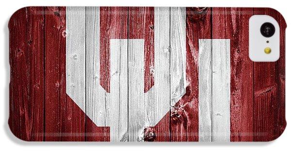 Sooners Barn Door IPhone 5c Case by Dan Sproul