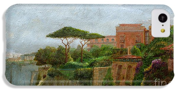 Mountain iPhone 5c Case - Sorrento Albergo by Trevor Neal