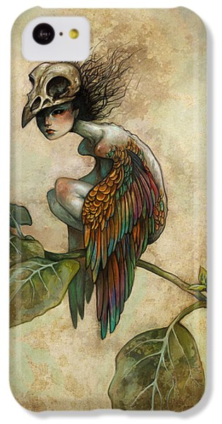 Soul Of A Bird IPhone 5c Case by Caroline Jamhour