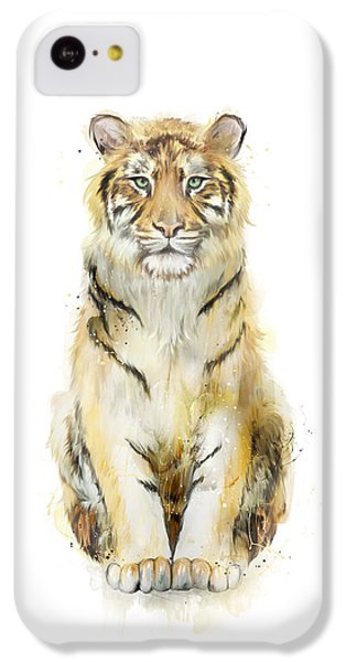 Tiger iPhone 5c Case - Sound by Amy Hamilton
