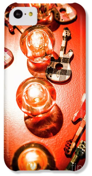Sound iPhone 5c Case - Sound And Lights by Jorgo Photography - Wall Art Gallery