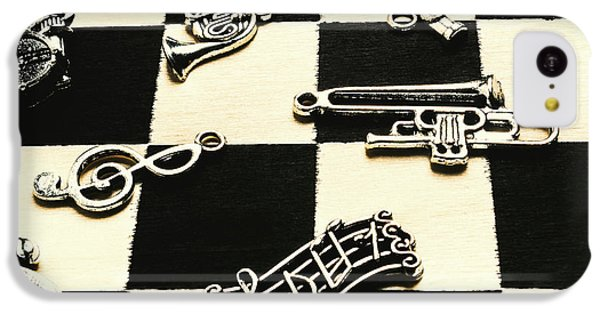 Trumpet iPhone 5c Case - Sound Cheque by Jorgo Photography - Wall Art Gallery