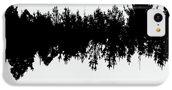 Sound Waves Made Of Trees Reflected IPhone 5c Case