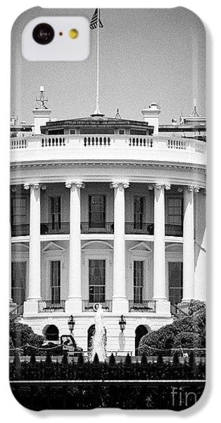 Whitehouse iPhone 5c Case - south facade of the white house Washington DC USA by Joe Fox