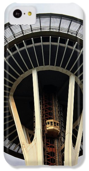 Seattle iPhone 5c Case - Space Needle- By Linda Woods by Linda Woods