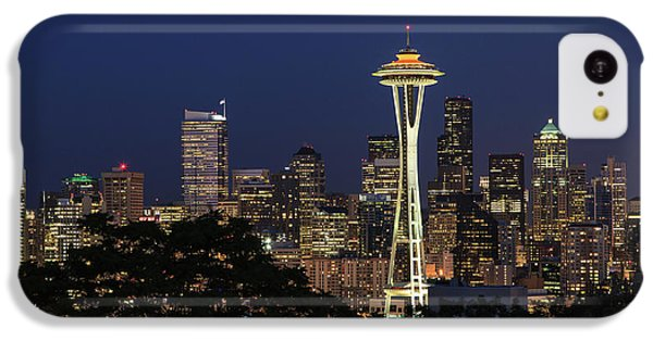 Space Needle IPhone 5c Case by David Chandler
