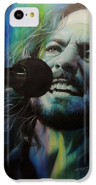 Eddie Vedder - ' Spectrum Of Vedder ' IPhone 5c Case