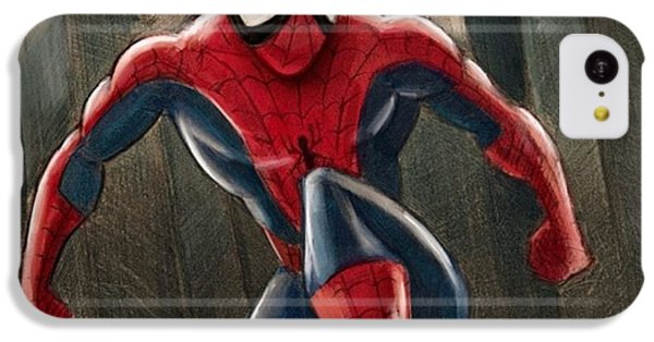 Amazing iPhone 5c Case - Spider-man by Tony Santiago