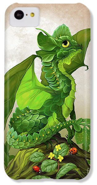 Spinach Dragon IPhone 5c Case by Stanley Morrison