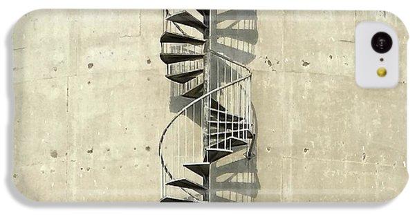 iPhone 5c Case - Spiral Staircase by Julie Gebhardt