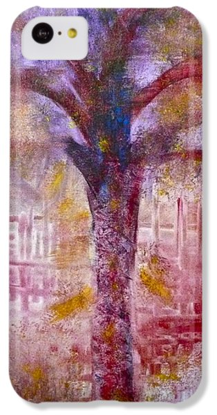 IPhone 5c Case featuring the painting Spirit Tree by Claire Bull