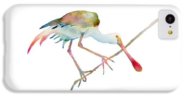 Spoonbill  IPhone 5c Case by Amy Kirkpatrick