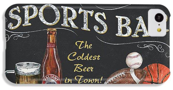 Sports Bar IPhone 5c Case by Debbie DeWitt