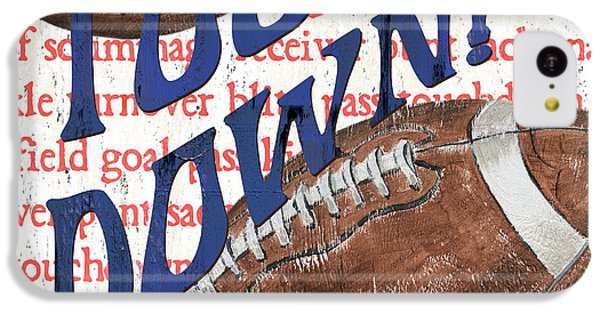 Sports Fan Football IPhone 5c Case