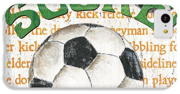 Sports Fan Soccer IPhone 5c Case
