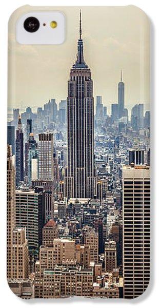 Empire State Building iPhone 5c Case - Sprawling Urban Jungle by Az Jackson