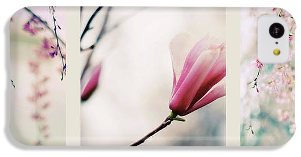 IPhone 5c Case featuring the photograph Spring Blossom Triptych by Jessica Jenney
